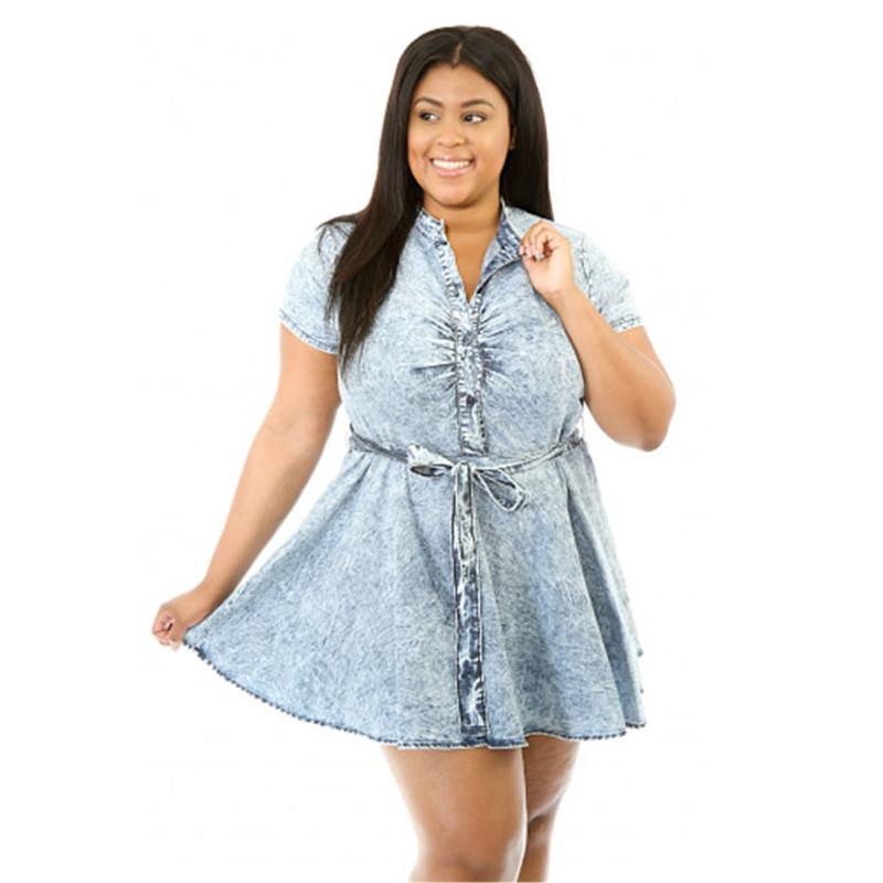 e85dc802256 Get Quotations · Summer Style Skater Denim Dress Women 2015 High Quality  Plus Size Sexy Fashion Club Dresses LC22387