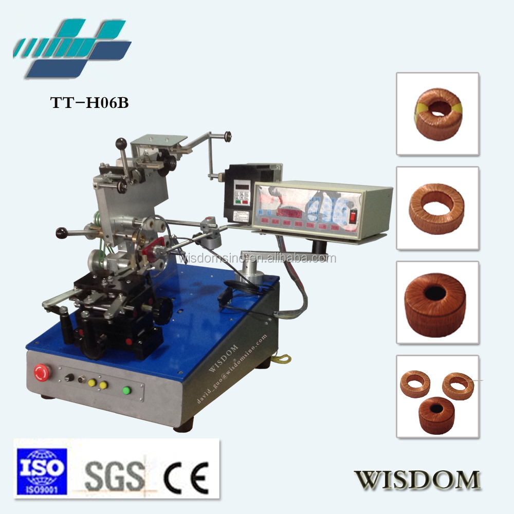 TT-H06B High quality automatic Toroidal inductor core winding machine price