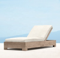 Luxury teak garden furniture beach outdoor teak unique chaise lounge chairs