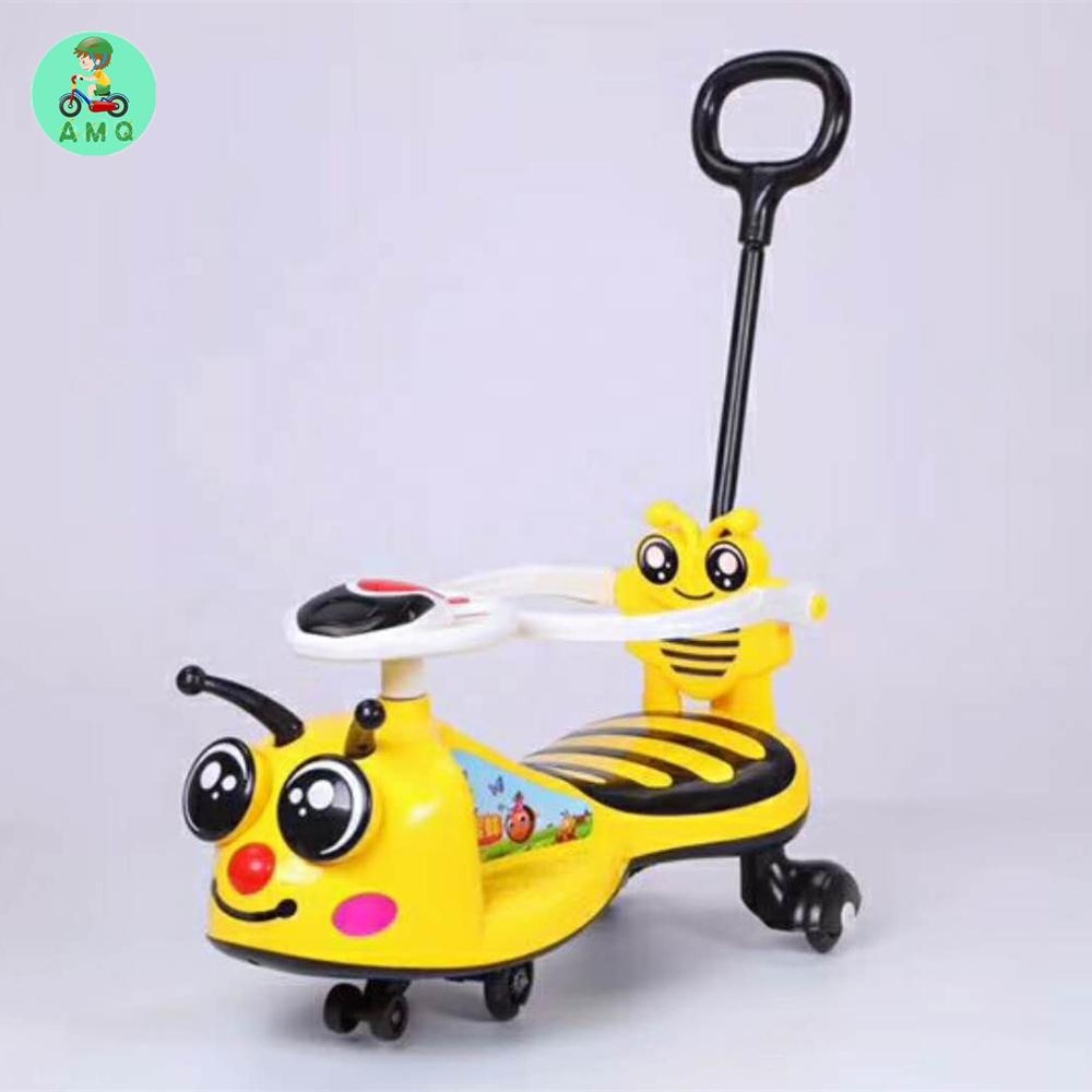 factory wholesale popular plastic kids twistcar / toddlers wiggle car for kids/ baby swing car