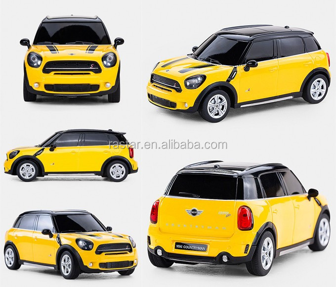 Licensed BMW MINI COOPER S Countryman model 1:24 toy car electric radio control car