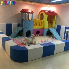 Children sports indoor playground small soft play area fencing for babies