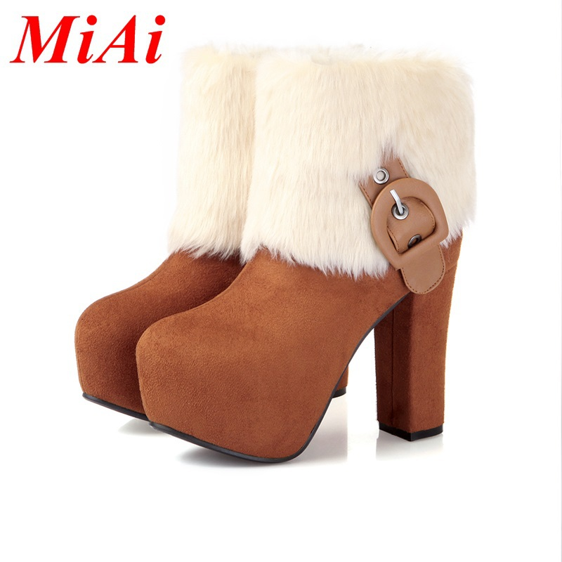 e6e05852ec0 Buy women ankle boots women autumn shoes platform fashion zipper ...