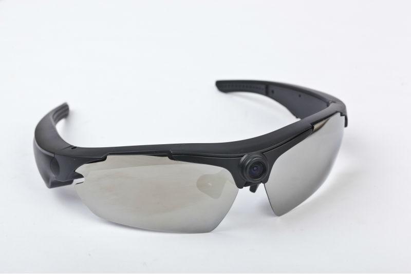0739d94de Óculos De Sol Da Câmera Hd 720 P 170 Graus Lente Grande-angular,New ...