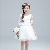 E0012A 2017 New Arrival Chiifon Tutu Dress Girls Dresses