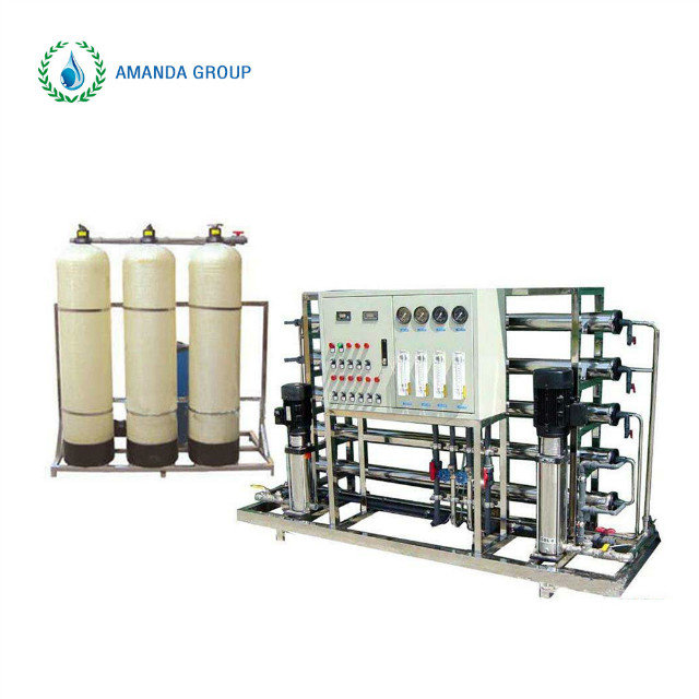 pure water ion exchanger equipment with reverse osmosis system