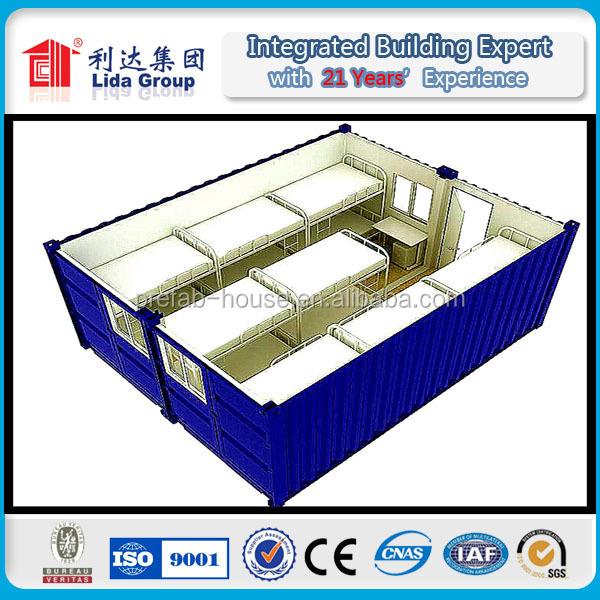 Casa prefabbricata modulare spedizione case container - Casa container italia ...