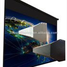Large Electric Projector Screen/Tab Tensioned Motorized Projection Screens up to 600""