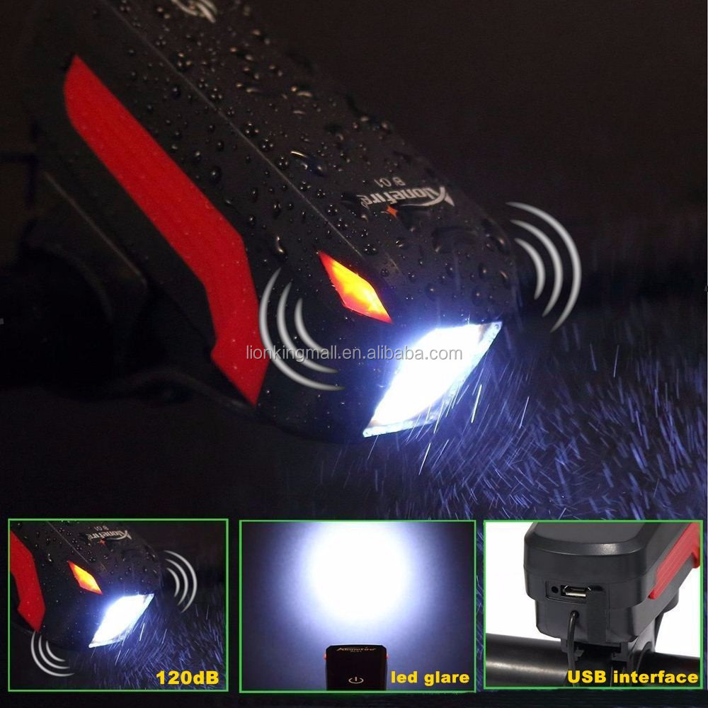 AloneFire Bike Light Head LED Flashlight With Bell Luces Cycle Lamp Outdoor MTB Road Cycling Headlight Speaker Bicycle Cycling