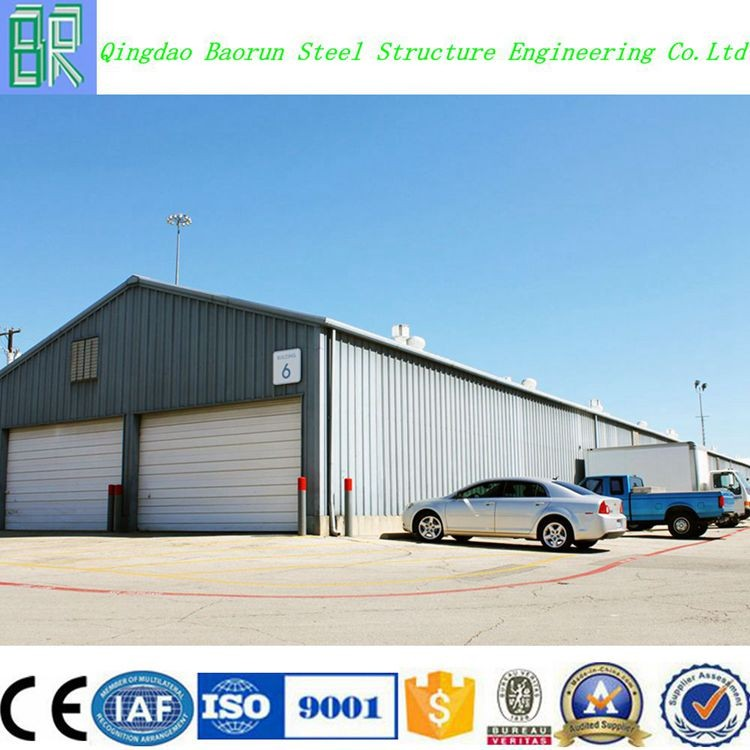Well design prefabricated modular warehouse building