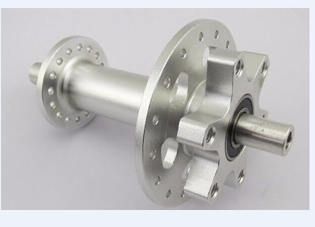 precision cnc machined motorcycle rear hubs