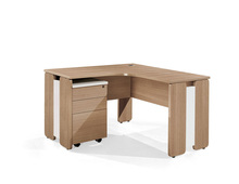 Home Office L Shape Wood Study Cum Computer Table