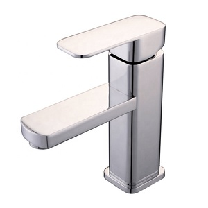 European Style Basin Single Handle Ceramic Valve Core Chrome Finish Brass Tap Water Tap Design Brand