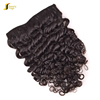 Gold 100% peruvian human kinky curly clip in hair extension,100% european hair grey hair clip in extensions,clip hair