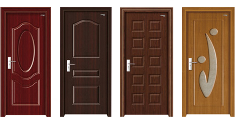 E Top Door Mdf Wood Pvc Door Fiber Bathroom Door Buy