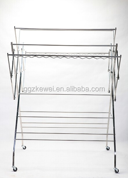 stainless steel clothes drying rack hanging clothes rack cloth dryer wf001 malaysia - Hanging Clothes Rack