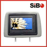 Android 7 Inch Car Headrest TFT LCD Monitor with Pillow