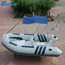 Gather CE certificate China Inflatable easy inflatable boat for fishing