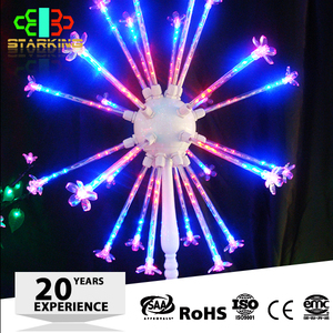 Holiday decoration expand outdoor led christmas fireworks light,fireworks lighting