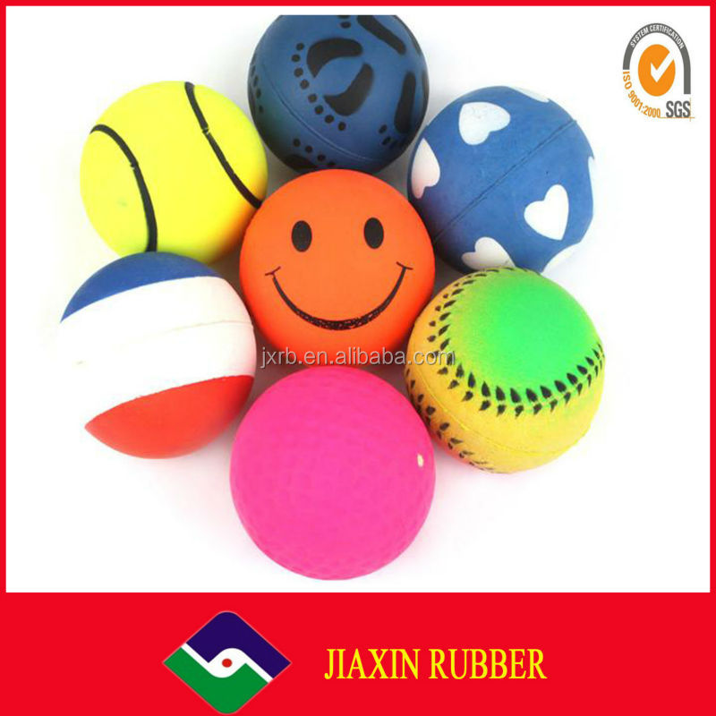 Hot sale High Quality Beautiful Kids Toy Rubber Ball/pokemon ball toys