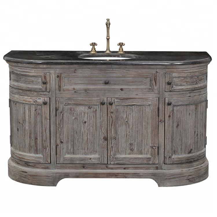 Antique Vintage Bathroom Vanity Cabinet