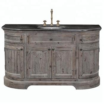 Antique Vintage Bathroom Vanity Cabinet