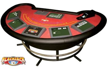 Electronic Blackjack Table