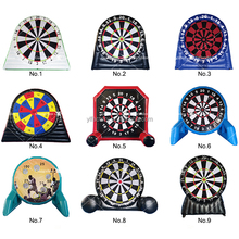 3.5mH or 5mH Height Inflatable Foot Darts for Sale, Soccer Ball Kick Darts, Sticky Inflatable Dart Board Game