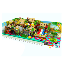 Commercial Kids Jungle Theme Indoor Playground On Sale