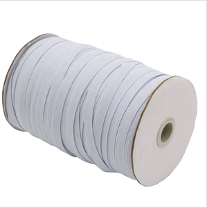 Wholesale braided Garment accessories 8mm thin elastic band