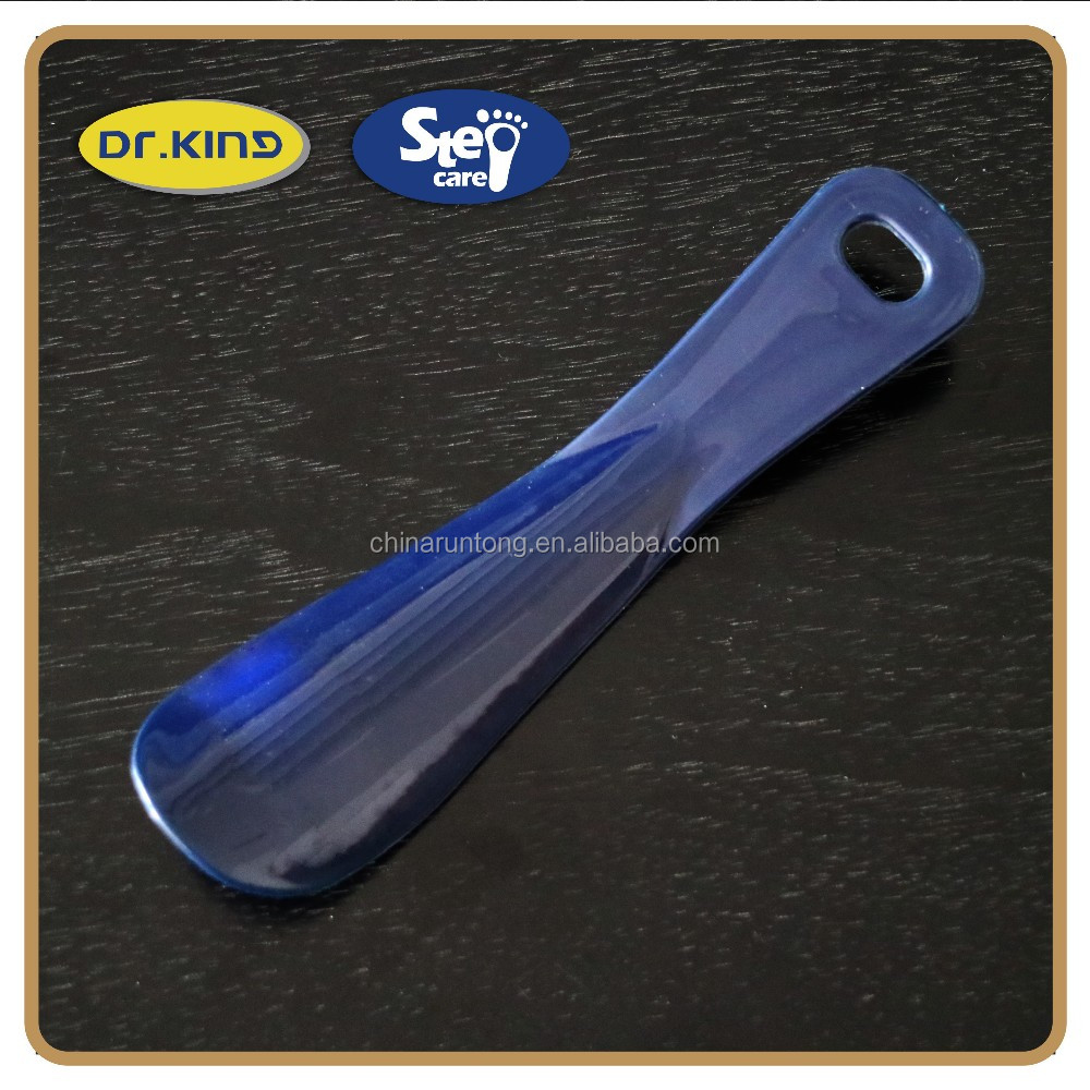 convenient ergonomic shoe care plastic shoe horn