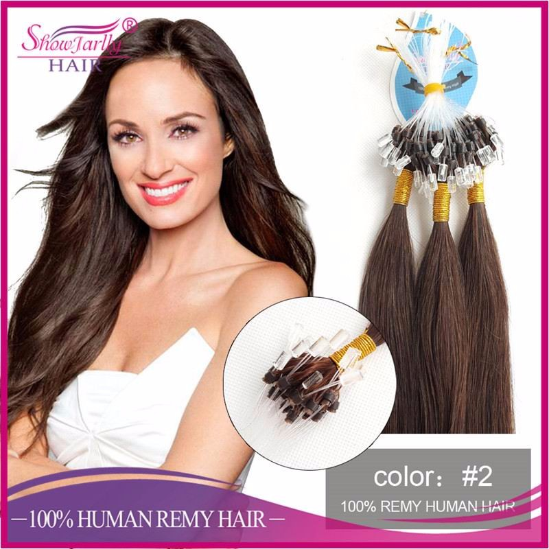 Pre Bonded Keratin Tipped Micro Loop Ring Hair Extensionscheap