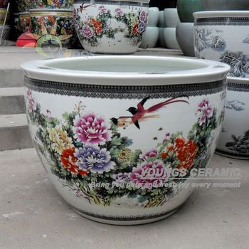 Various Chinese Ceramic Garden Decoration Plant Pots