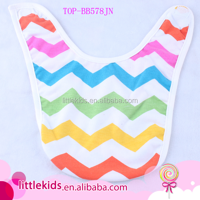 Baby Rainbow Stripes Bandana Drool Bibs 5 Pack Soft Cotton and Absorbent Baby Teether Feeder Nice Baby Shower Gift