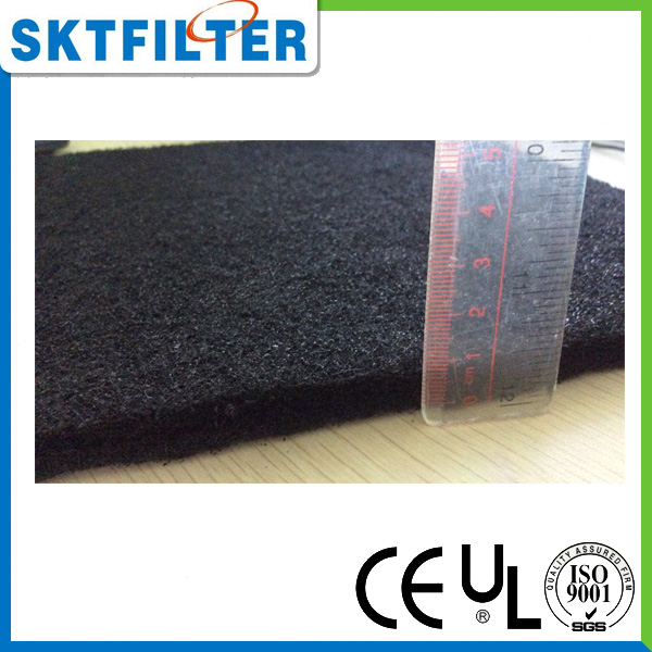 100% of the adsorption capacity air carbon filter