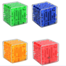 3D Mini Maze Magic Cube Magic Learning Educational Toy Gifts