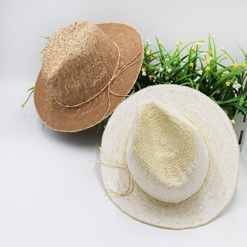 e81c17f71b0d3 White Ribbon Raffia Farmer Hats Straw Sun Hats - Buy Straw Sun Hats ...