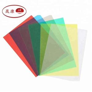 a4 transparent/clear hard pvc plastic binding cover sheet
