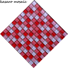 Red Brick Wall Tile, Brick Tile, Red Mosaic Wall Tiles (KSL124140)