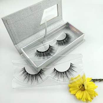MLSD  Custom Eyelash Packaging 3D Lashes Faux Mink Eyelashes And Silk Individual Eye Lashes