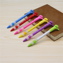 Novelty good Gesture Plastic Finger Pen for kids