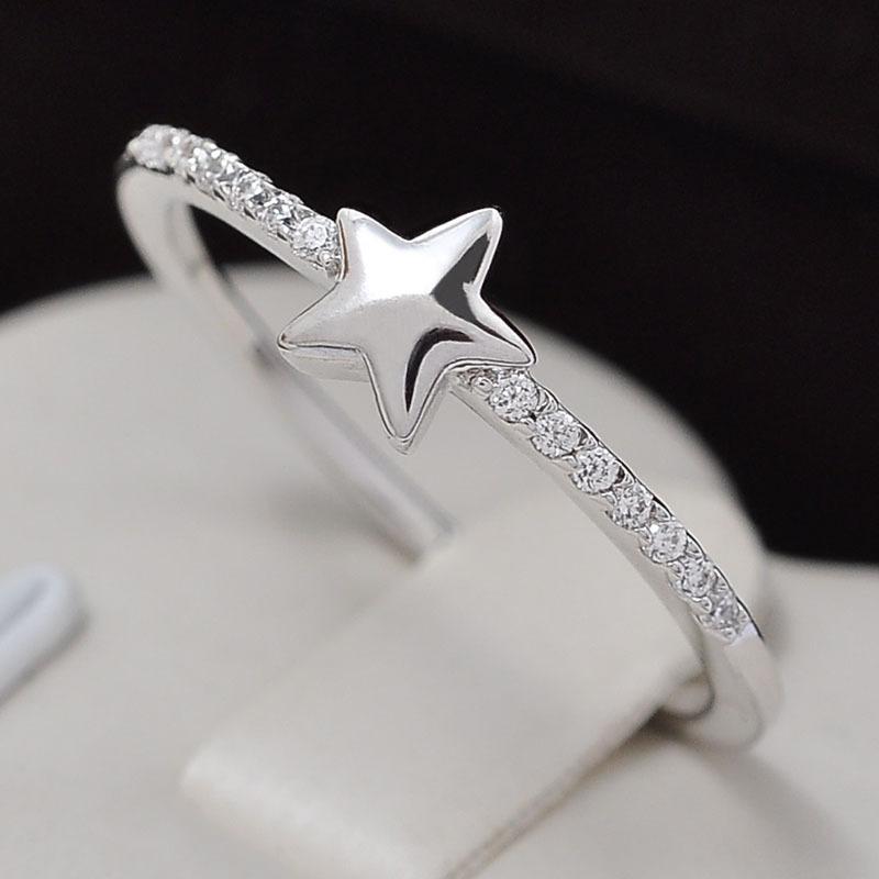 Zircons micro pave shiny star shaped jewelry ring view shiny star zircons micro pave shiny star shaped jewelry ring mozeypictures Image collections