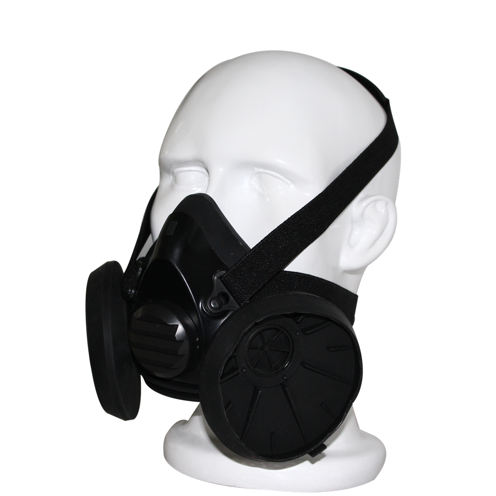 Gas Mask China Factory Double Filter Half Face Gas Mask Oem ...
