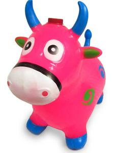 jumping bouncing horse inflatable jumping animal toy for kids