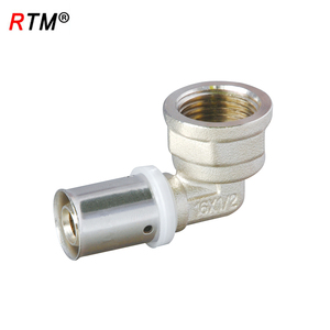 A17 4 14 90 degree female elbow brass 90 degree tube fitting female elbow
