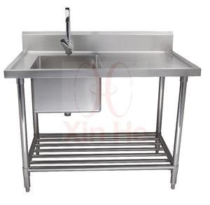 Merveilleux Freestanding Commercial Stainless Steel Kitchen Sink ...