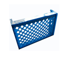 Cheap price HDPE plastic bread food crate