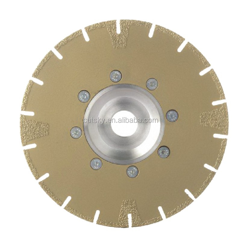 180mm vacuum brazed diamond saw blades for marble, tiles, glass
