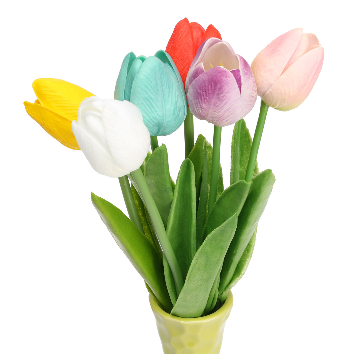 Buy 1 pieces wedding tulip flower artificial pu mini simulation buy 1 pieces wedding tulip flower artificial pu mini simulation tulip flowers party home garden decoration flower 6 color in cheap price on mibaba izmirmasajfo