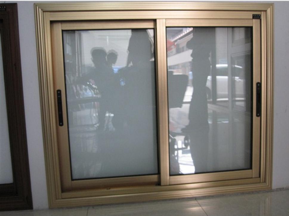 Aluminum Frame Glass Windows Double Glass Interior